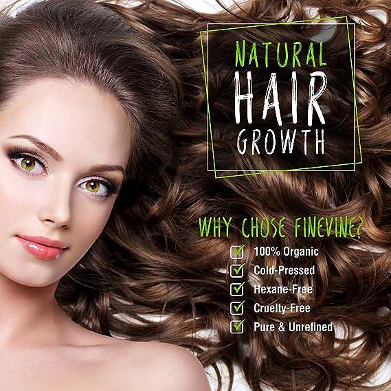 Aceite de ricino orgánico, MELAO prensado en frío, puro crecimiento de aceite de ricino para cejas, pestañas, pelo y piel con 5 juegos de pinceles de cejas ...