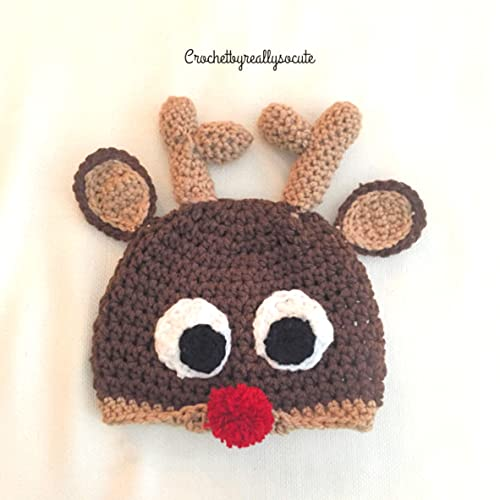 3177114295f Amazon.com  Reindeer hat