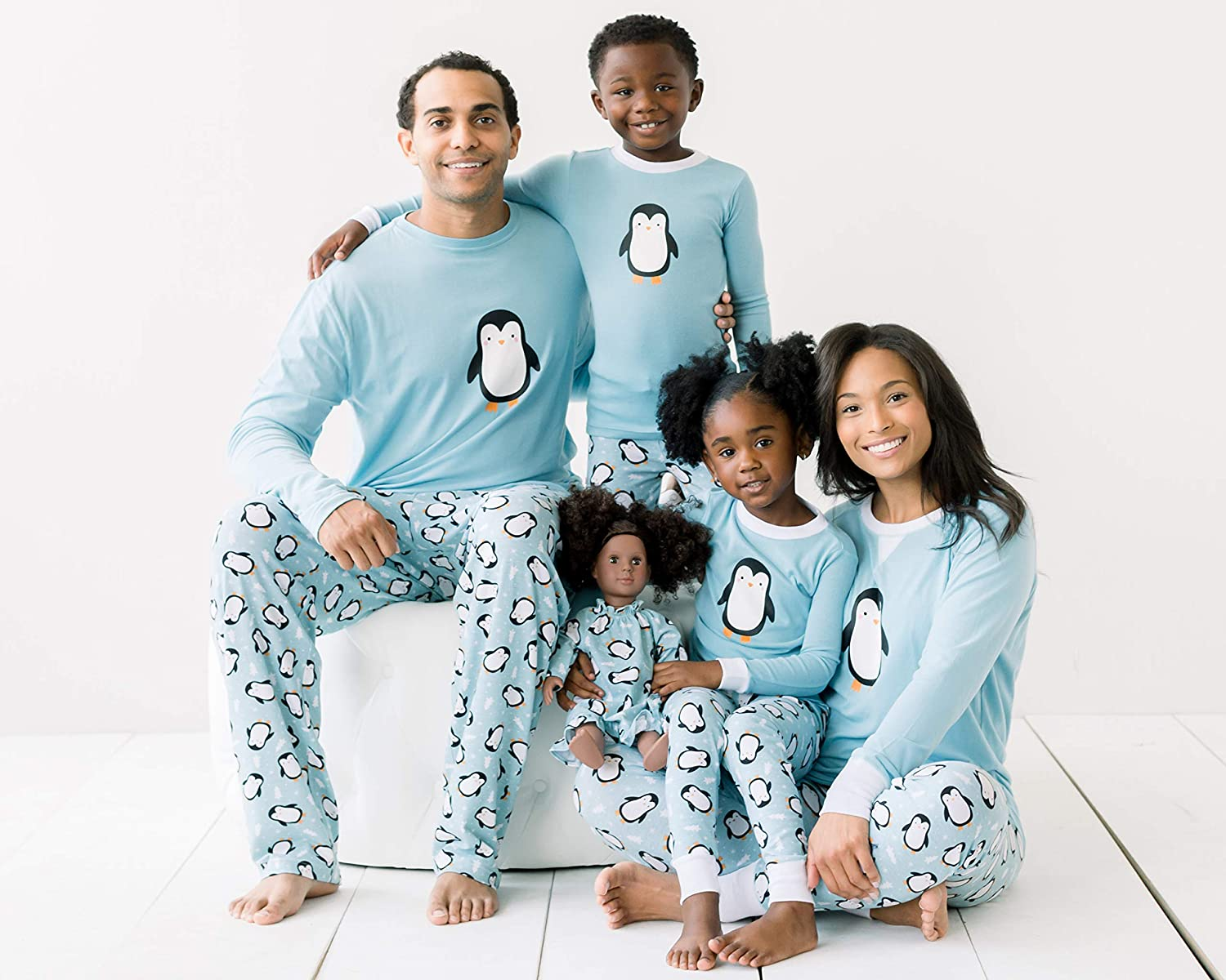 Our Family Pjs Holiday Family Matching Penguin Pajama PJ Sets