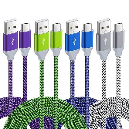 Amazon.com: Pofesun - Cable de datos y carga para Galaxy S8 ...
