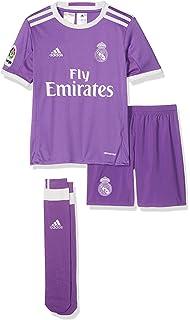 Adidas Real Madrid CF 2015/16 A SMU Mini Conjunto Jugador, Niños