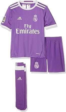 adidas Real Madrid CF 2015/16 A SMU Mini Conjunto Jugador, Niños: Amazon.es: Ropa y accesorios