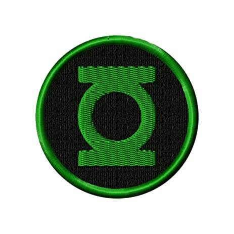 Amazon Superheroes The Green Lantern 4 Embroidered Ironsew On