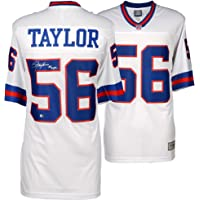 $239 » Lawrence Taylor New York Giants Autographed White Pro-Line Jersey - Fanatics Authentic Certified - Autographed NFL Jerseys