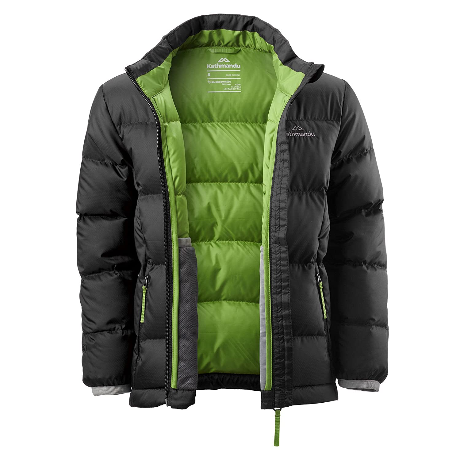 e26aac2dd419 Kathmandu Elcho Kids Boys Girls Hood Warm Winter Outdoor Duck Down ...