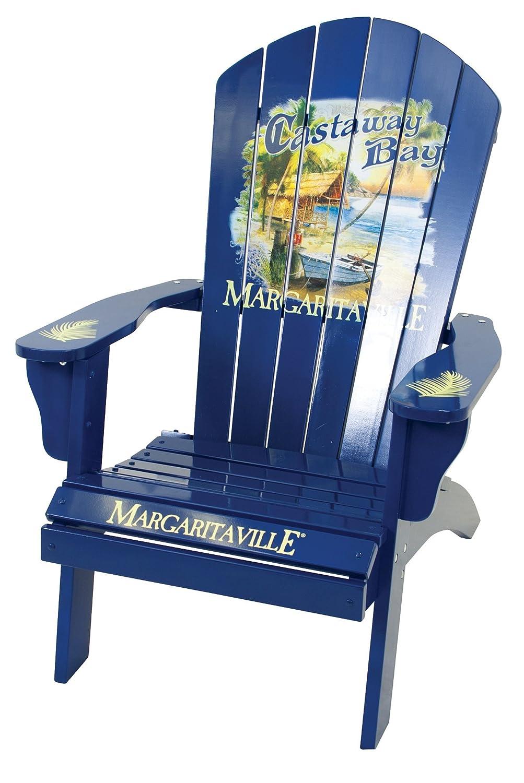 Nice Amazon.com : Margaritaville Outdoor Adirondack Chair, Castaway Bay : Garden  U0026 Outdoor