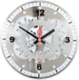 Amazon Com Kikkerland Gear Clock Home Amp Kitchen