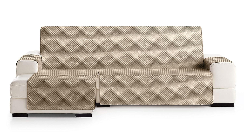 Protection matelass/ée pour canap/é dangle /à Gauche Couleur Ivoire 01 JM Textil Couvre canap/é dangle Elena VU DE Face Taille -240cm