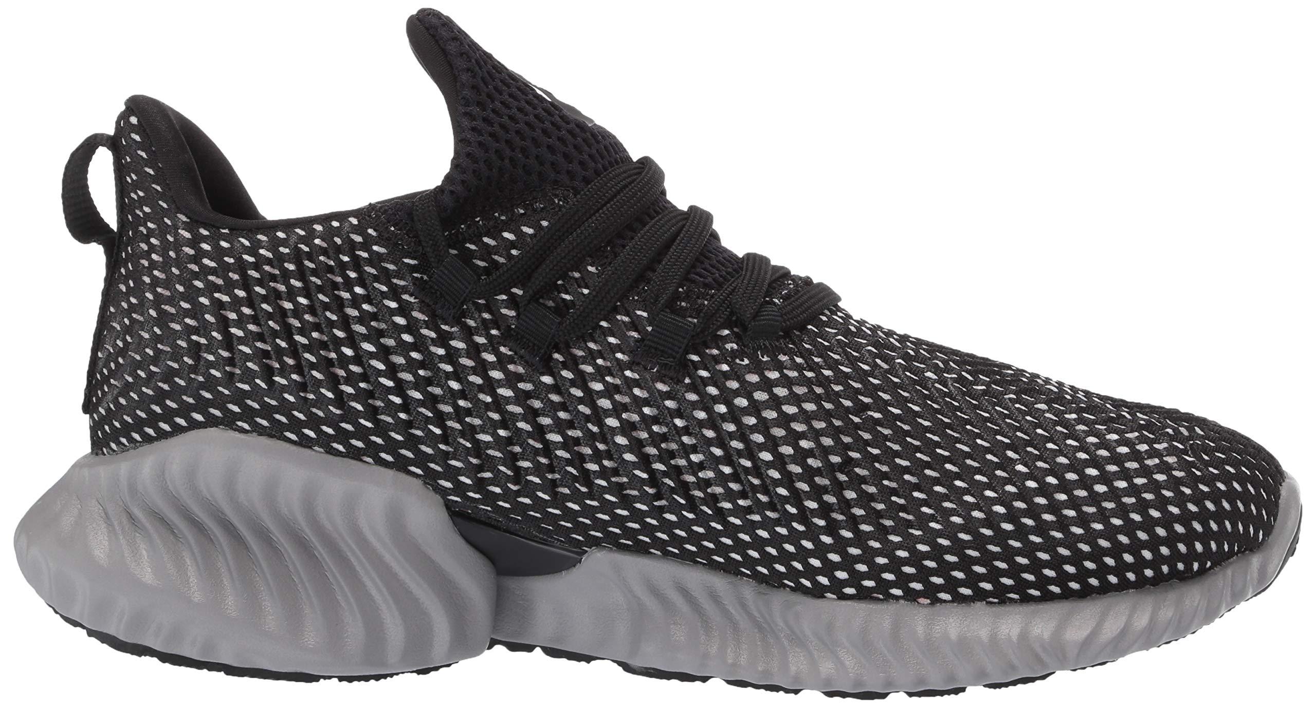 Adidas Kids Alphabounce Instinct, Black/White/Grey, 1 M US Little Kid by adidas (Image #7)