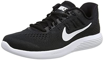 more photos a970c 522cd Nike Women s WMNS Lunarglide 8 Black White Running Shoes-3 (843726-1