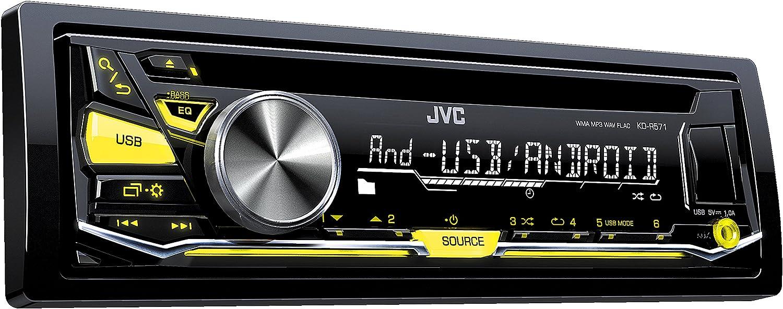 JVC KD-R571E Radio CD con entrada auxiliar y puerto USB: Amazon.es: Electrónica