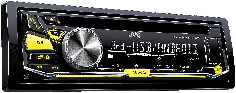 JVC KD-R571 Autoradio USB/CD-Receiver mit Front-Aux-Eingang schwarz JVCKENWOOD Deutschland GmbH