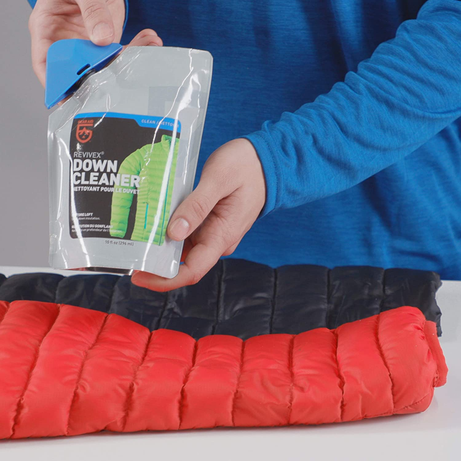 Gear Aid Revivex Down Cleaner and Wash for Jackets and Sleeping Bags