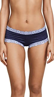 product image for hanky panky Women's Heather Jersey Boy Shorts