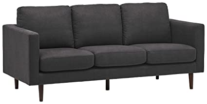 Amazon.com: Rivet Revolve - Sofá cama reversible, Gris ...