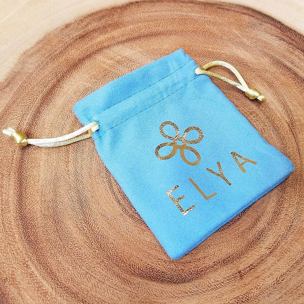 "B01JTKCRE8 West Coast Jewelry | ELYA Polished Flower Stainless Steel Pendant - 24\"" 71LN7Tv94kL"