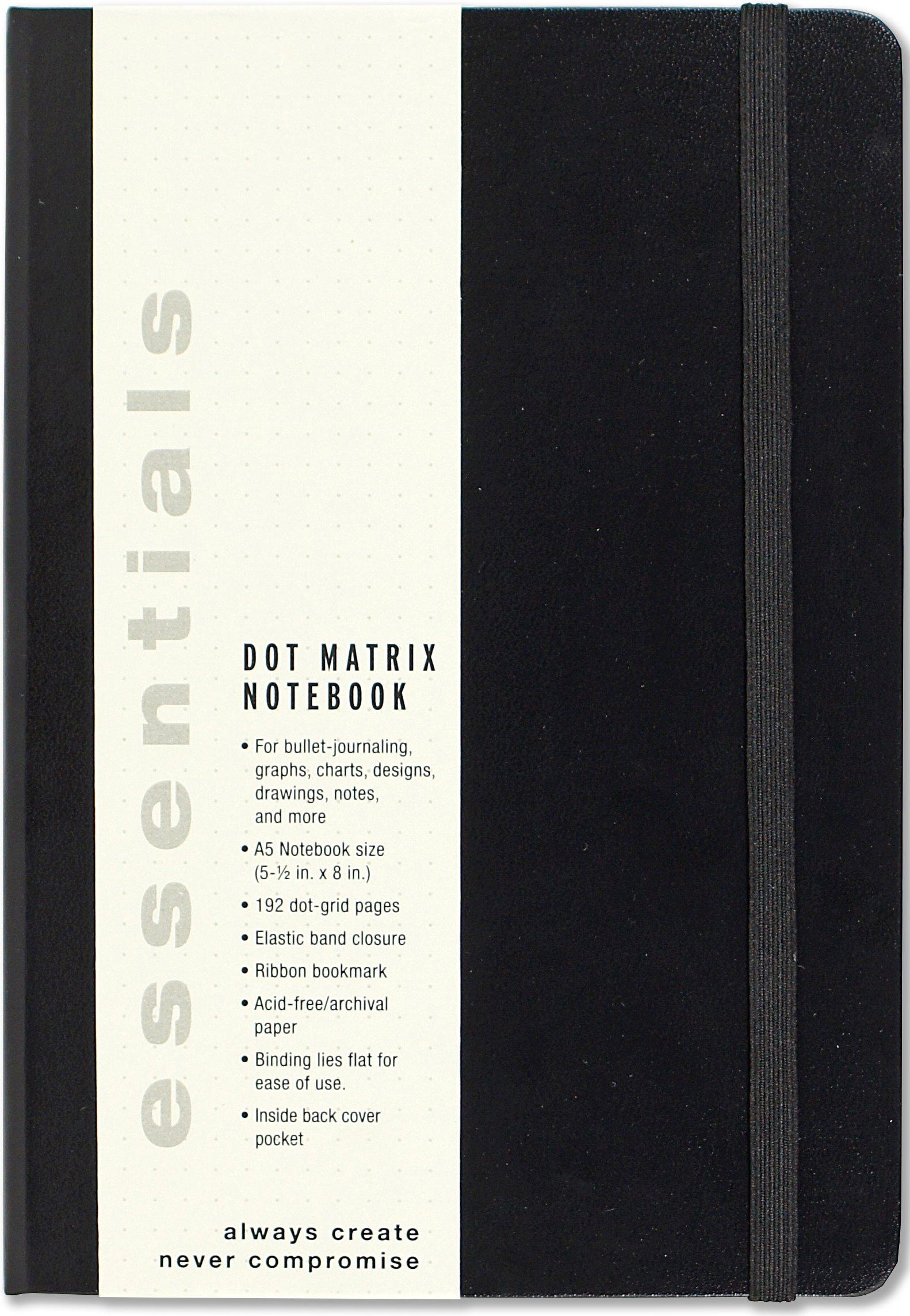 bullet journal dotted  Essentials Dot Matrix Notebook, A5 size: Peter Pauper Press ...