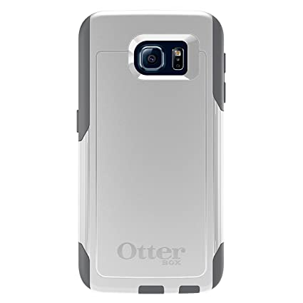 finest selection cc2a4 ccd44 OtterBox COMMUTER SERIES for Samsung Galaxy S6 - Retail Packaging - Glacier  (White/Gunmetal Grey)