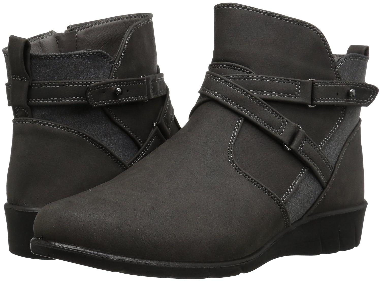 Easy Street B071ZM7BDQ Women's Davis Ankle Bootie B071ZM7BDQ Street 5.5 B(M) US|Grey 202ecc