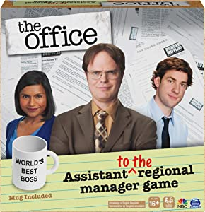 Spin Master Games The Office TV Show, Assistant to The Regional Manager Party Game, for Adults and Teens Ages 16 and up