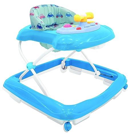 Amazon.com: Asalvo 13088 Cars Design Baby Walker, Blue: Toys ...
