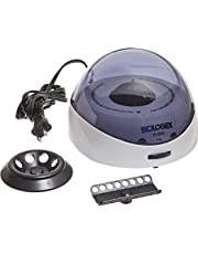 SCILOGEX Scilogex 91003141 Model D1008 EZeeMini Centrifuge with Blue Lid, US Plug, 110/240V