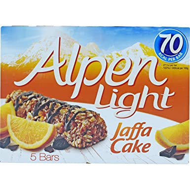 Alpen light jaffa cake bars 95g amazon grocery alpen light jaffa cake bars 95g aloadofball Image collections