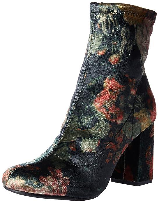 MIA Women's Valencia Ankle Bootie, Wine, 6.5 M US
