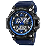 Timewear Military Series Analogue Digital Blue Strap Watch for Men
