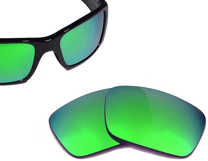 Best SEEK Replacement Lenses Oakley FUEL CELL - Polarized Jade Green