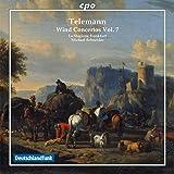 テレマン:管楽のための協奏曲集 第7集