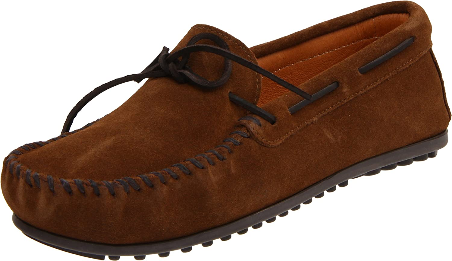 Minnetonka Classic Moc 917T Herren Mokassins  44 EU|Braun (Dusty Brown)