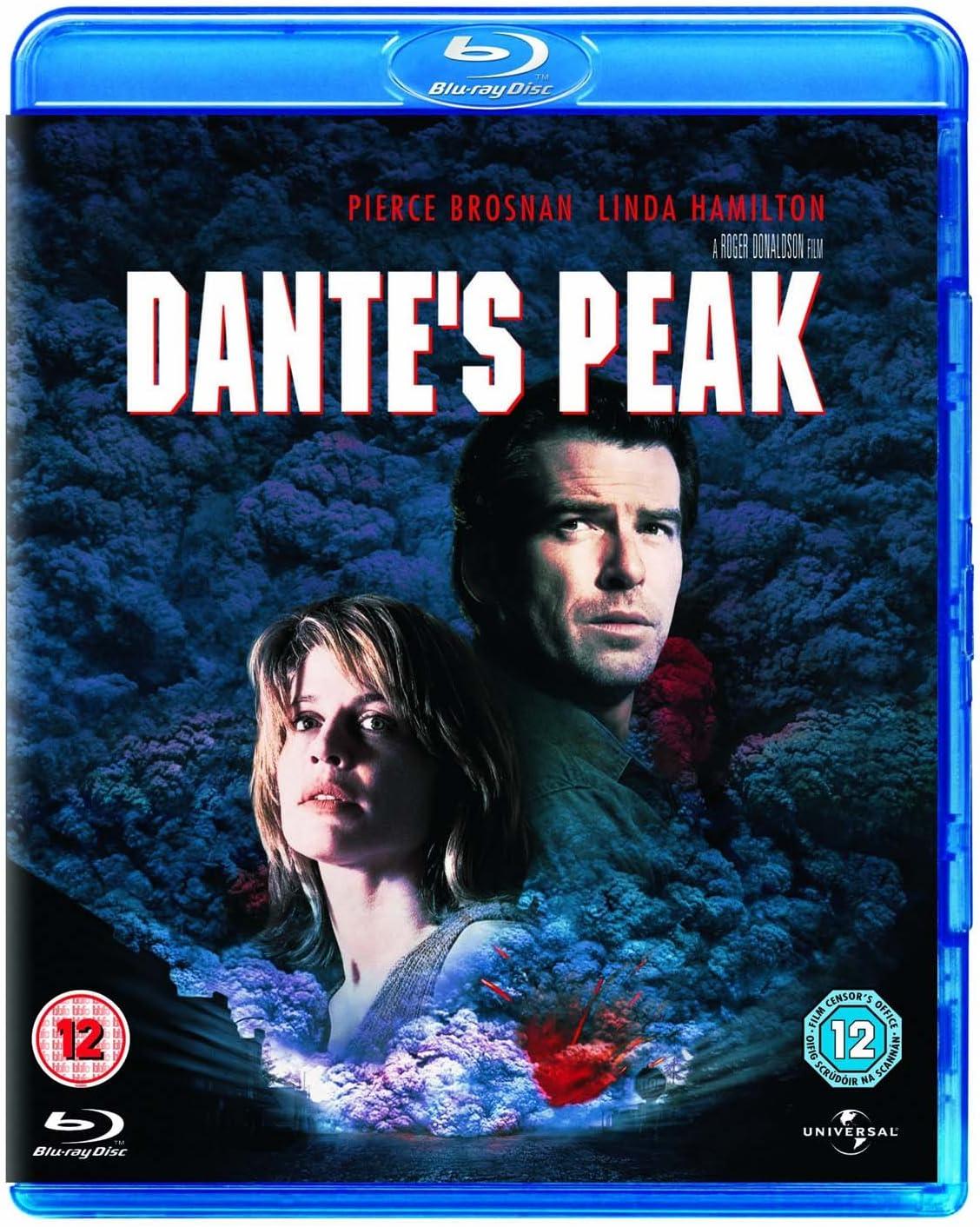 Dante S Peak Blu Ray 1997 Region Free Amazon Co Uk Pierce Brosnan Linda Hamilton Roger Donaldson Pierce Brosnan Linda Hamilton Dvd Blu Ray