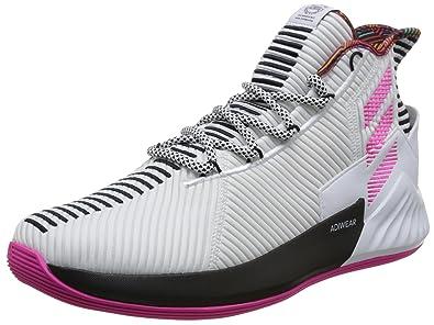 buy popular 320bb 8cb75 adidas Mens D Rose 9, Cloud WhiteShock PinkCORE Black, 11.5