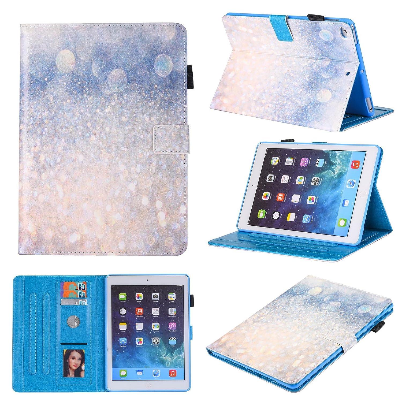 Dessin color/é Coque de protection Mokase pour iPad mini 2 3 ou 4/dApple En cuir Porte-feuille Avec pied