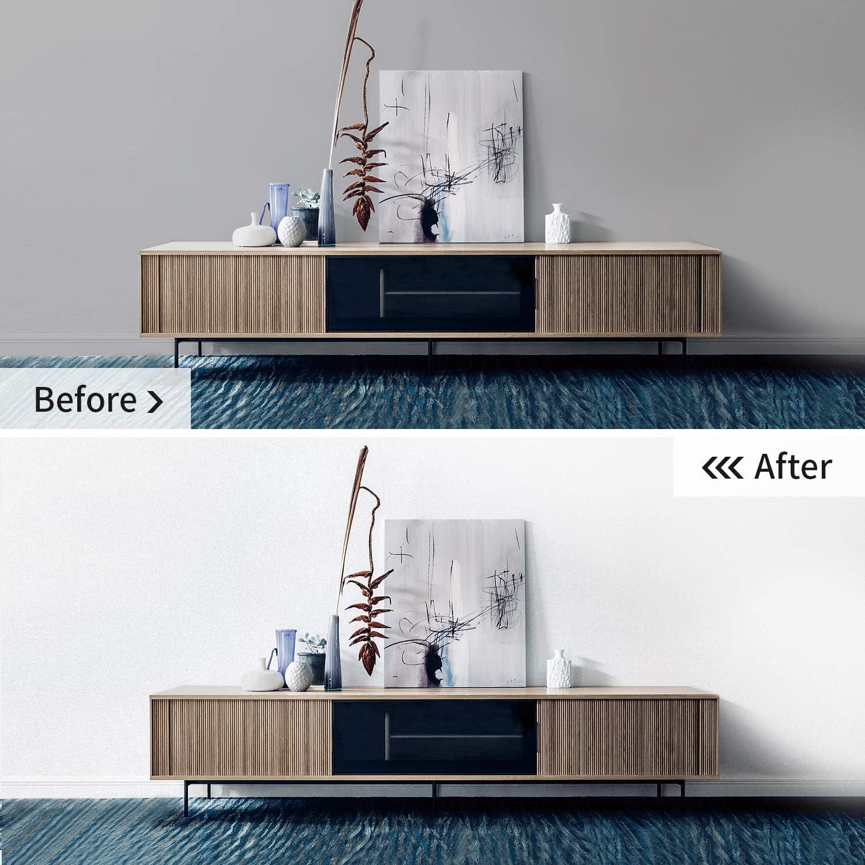 Papel Pintado Adhesivo Moderno Pegatina Extra/íble Vinilo Rollo para Pared Muebles Mesa Estante Cocina Ba/ño Autoadhesivo 45 cm x 300 cm