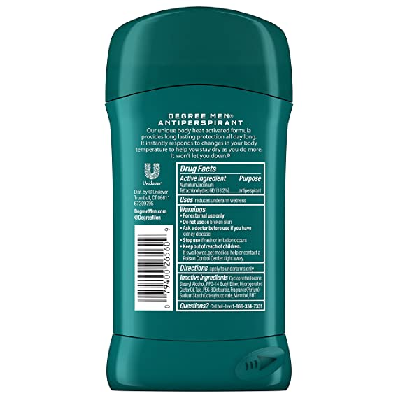 Degree Extreme Protection Anti perspirant Deodorant: Amazon.es: Salud y cuidado personal