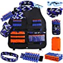 Uwantme Kids Tactical Vest Kit for Nerf Guns N-Strike Elite Series