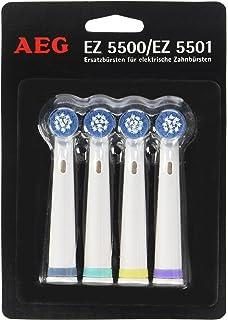 AEG EZ 5501 - Cabezales de repuesto para cepillo de dientes eléctrico (4 unidades)