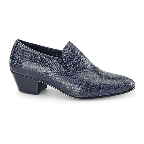 Shuperb - Mocasines para hombre Azul azul marino: Amazon.es: Zapatos y complementos