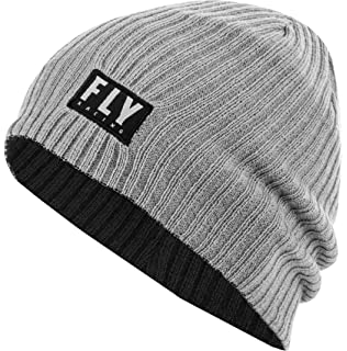 Fly Racing Mens Blue Drift Casual POM Beanie