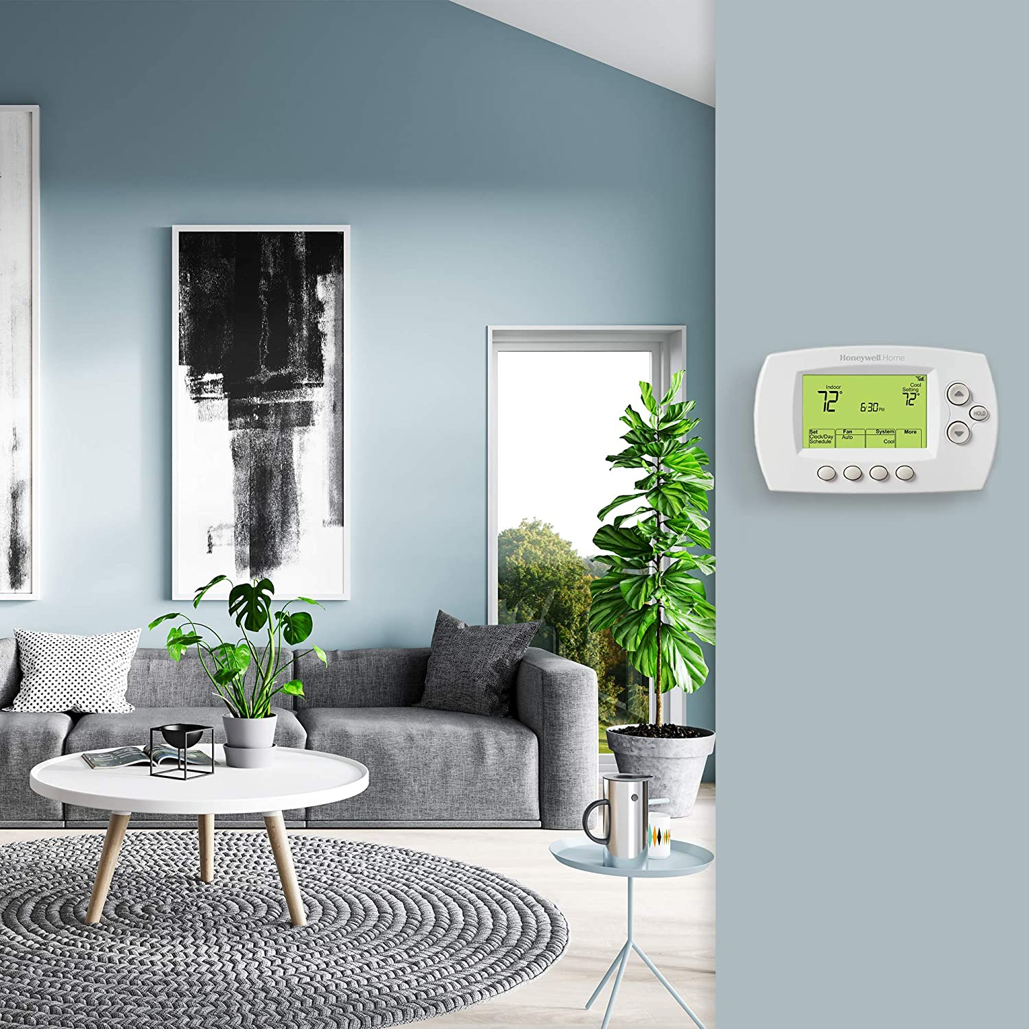 Honeywell Home Wi-Fi 7-Day Programmable Thermostat ...