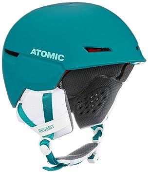 Atomic Revent+ Casco de Esquí, Unisex Adulto, Negro (Petrol), 51/