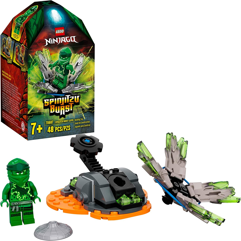 LEGO NINJAGO Spinjitzu Burst - Lloyd 70687 Ninja Playset Building Kit Featuring Ninja Action Figure, New 2020 (48 Pieces)