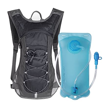 cf8a6a8b53 Unigear Hydration Pack Backpack with 70 oz 2L Water Bladder for Running,  Hiking, Cycling