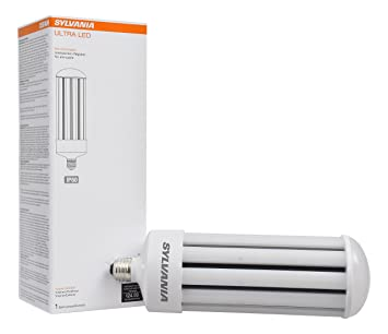 Sylvania 75157 5000K, 5000 lm, Medium Base, Self-Ballasted Ultra LED High Lumen Lamp HID, High Pressure Sodium, Metal Halide Replacement - - Amazon.com
