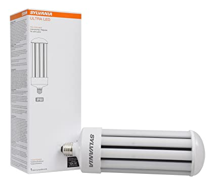 Sylvania 75157 5000K, 5000 lm, Medium Base, Self-Ballasted Ultra LED ...