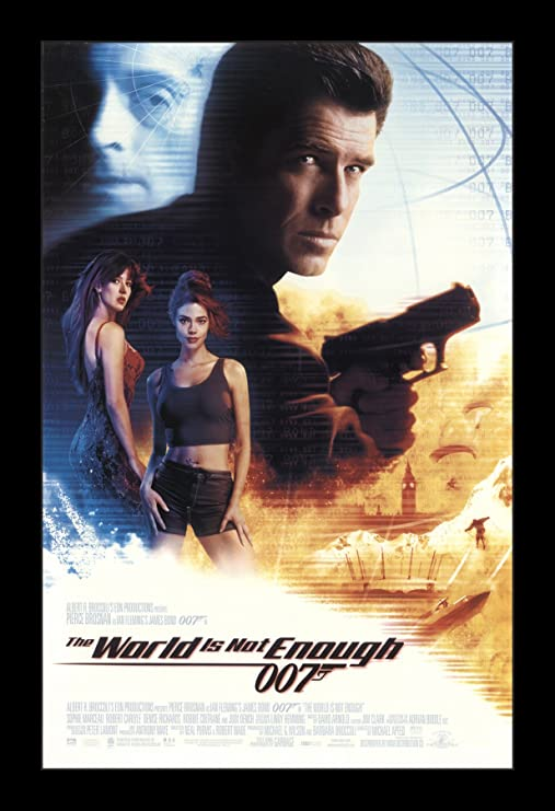 Amazon.com: Wallspace James Bond The World is Not Enough - 11x17 ...