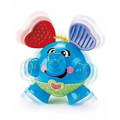 Fisher-Price Brilliant Basics Bounce & Giggle Elephant: Toys & Games