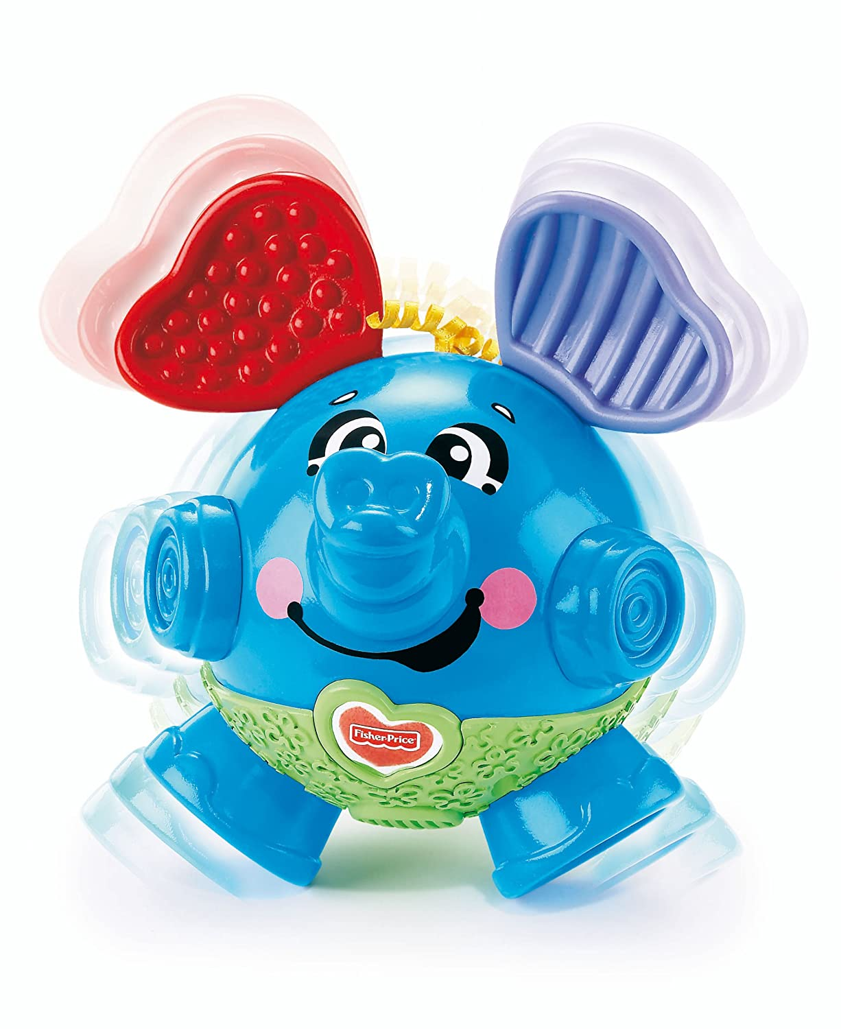 Fisher-Price Brilliant Basics Bounce & Giggle Elephant